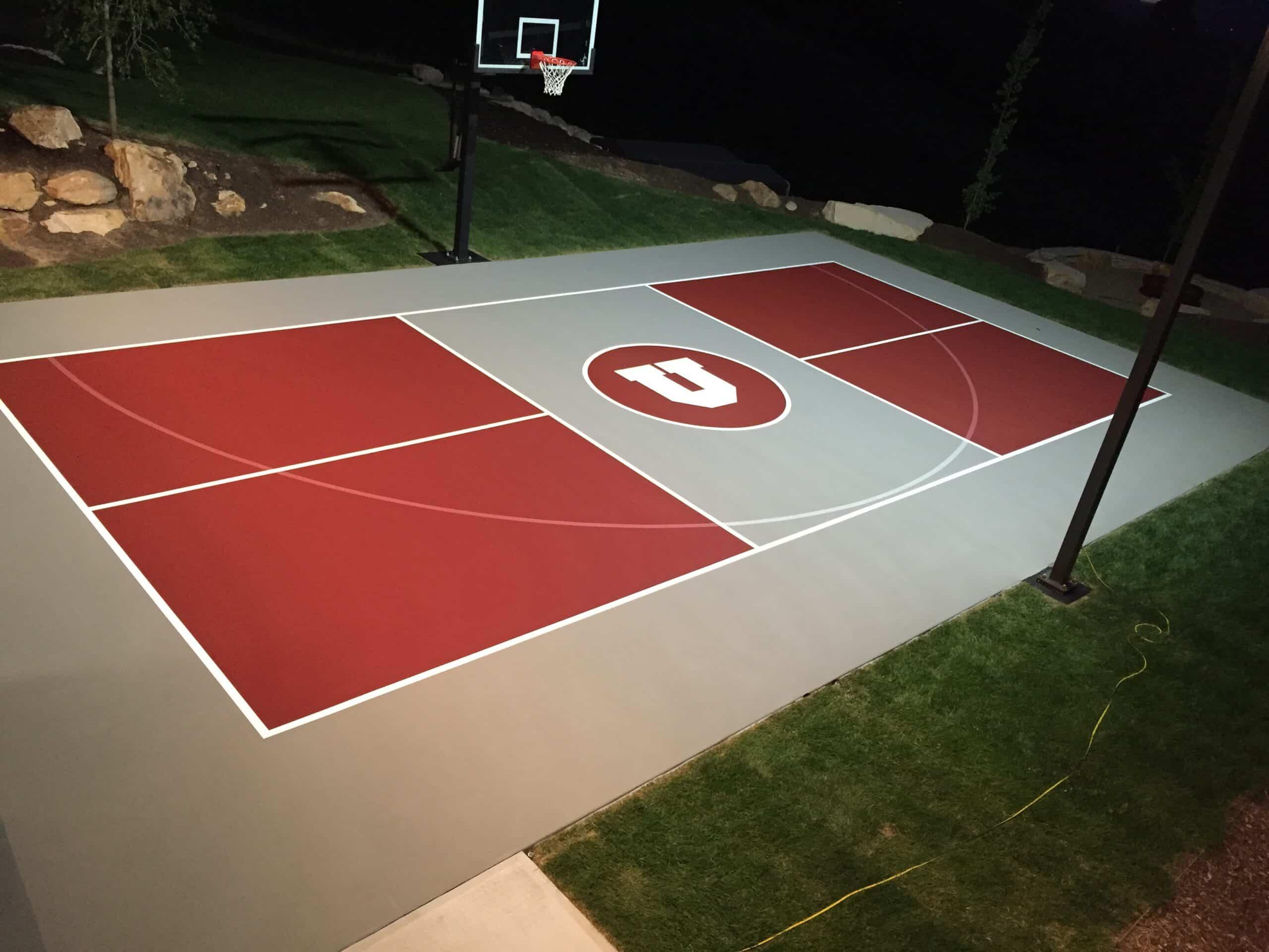 Utah Court Surfacing Outdoor Sports Court Pickleball Court